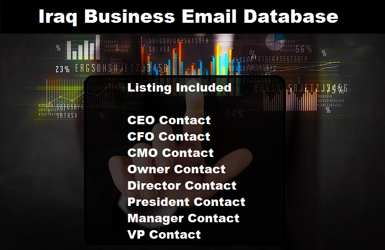 Iraq Business Email Database