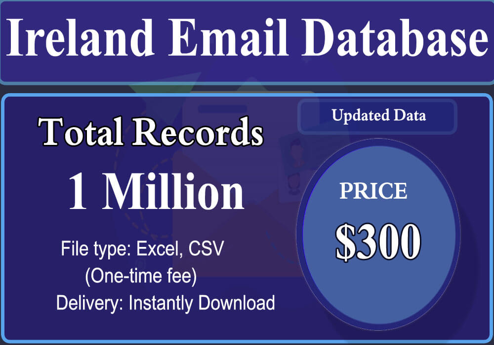 Ireland Email Database