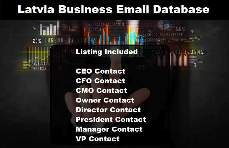 Latvia Business Email Database