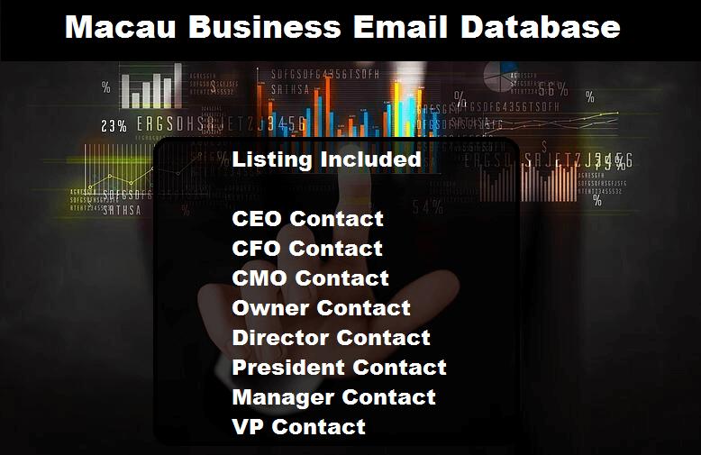 Macau Business Email Database