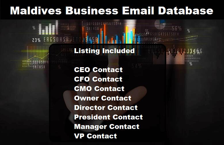 Maldives Business Email Database
