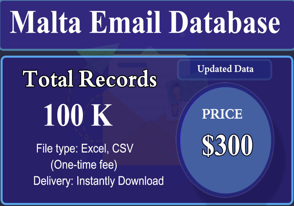 Malta Email Database