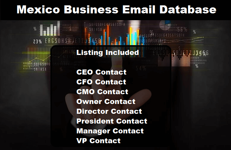 Mexico Business Email Database