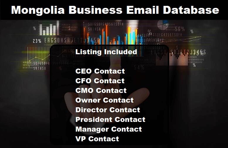 Mongolia Business Email Database
