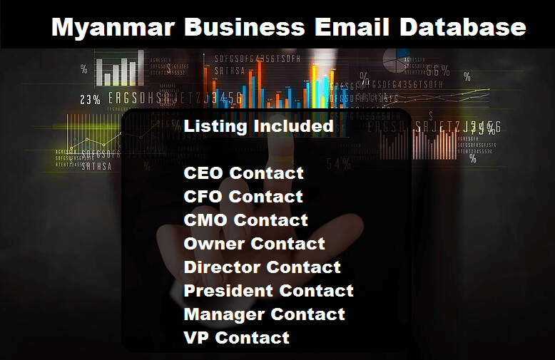 Myanmar Business Email Database