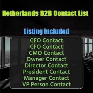 Netherlands B2B Contact List