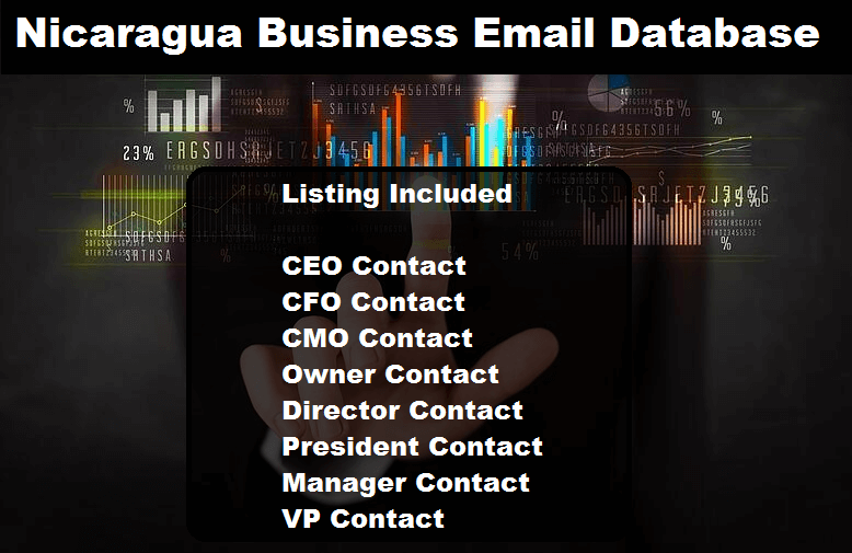 Nicaragua Business Email Database