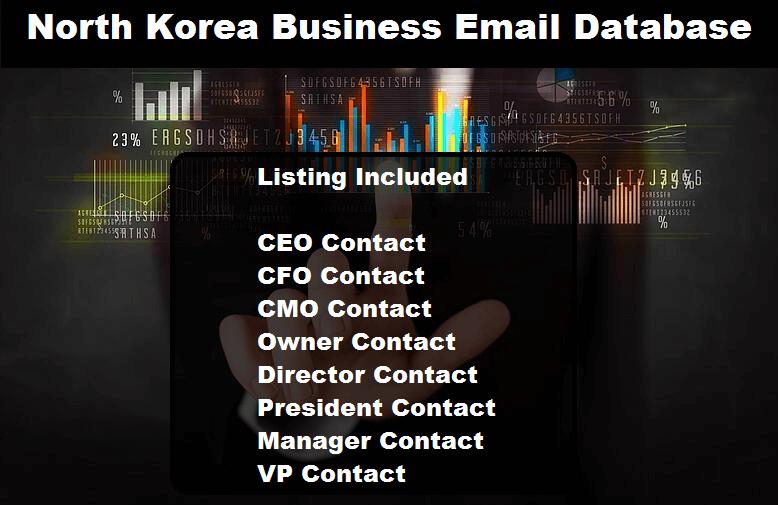 North Korea Business Email Database