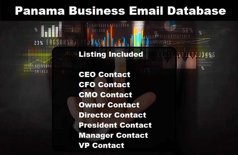 Panama Business Email Database