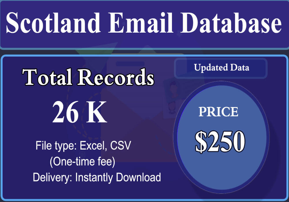 Scotland Email Database