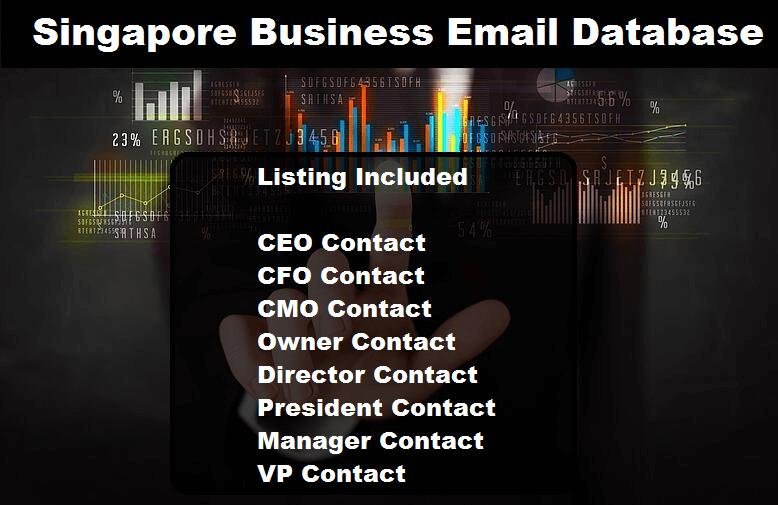 Singapore Business Email Database