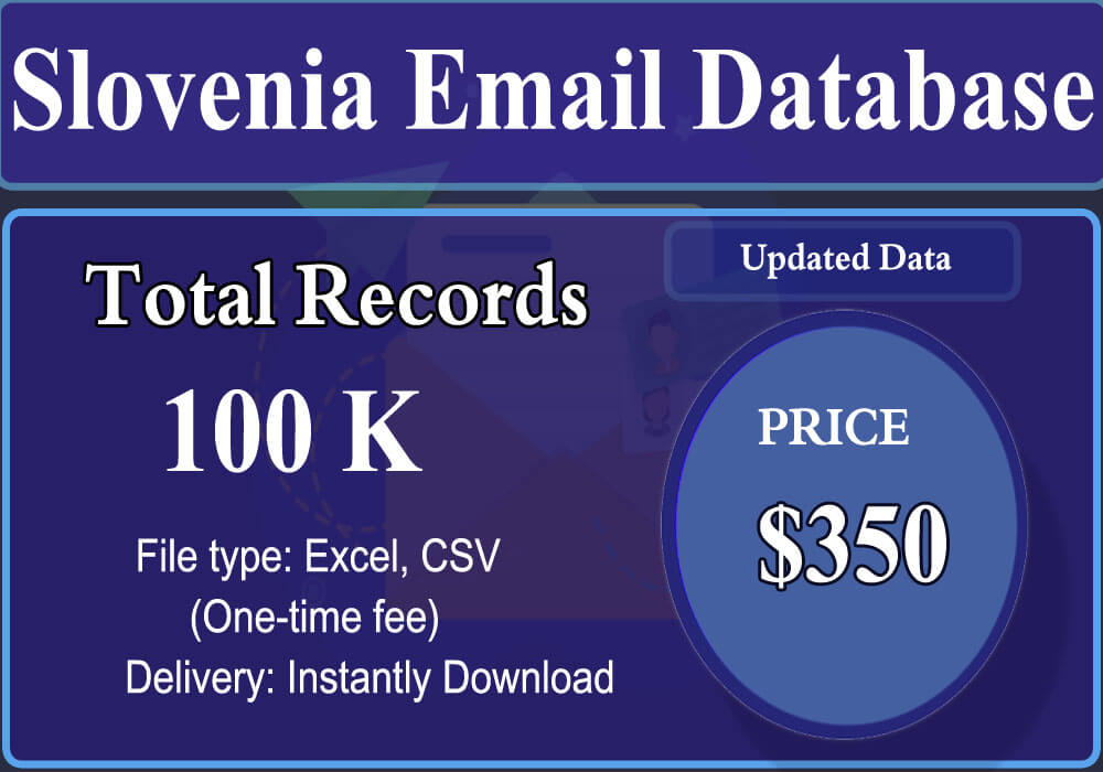 Slovenia Email Database