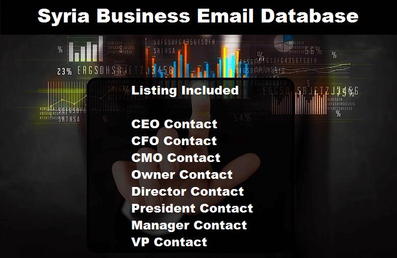 Syria Business Email Database