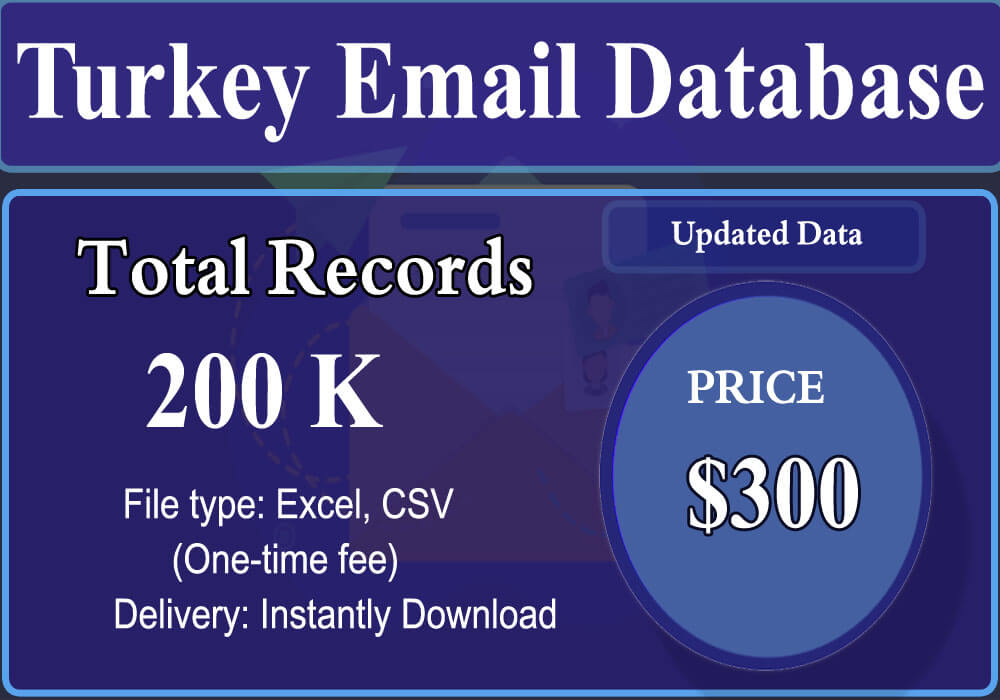 Turkey Email Database