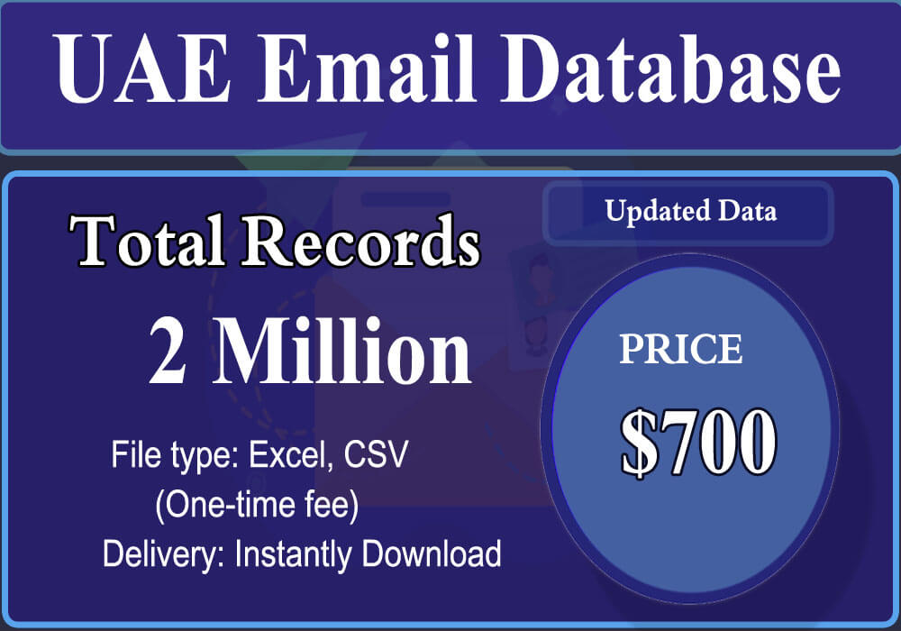 UAE Email Database