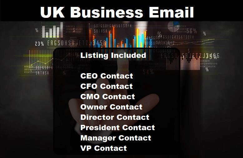 UK Business Email Database