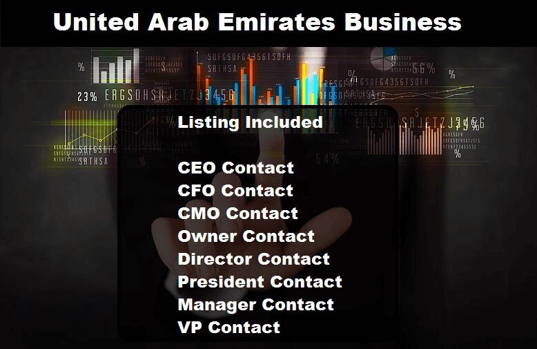 United Arab Emirates Business Email Database
