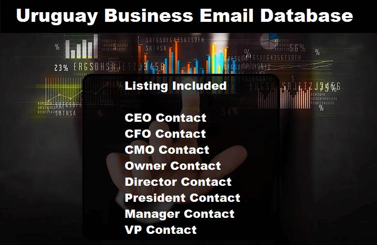 Uruguay Business Email Database