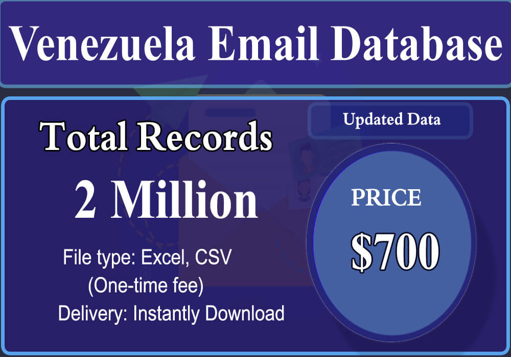 Venezuela Email Database