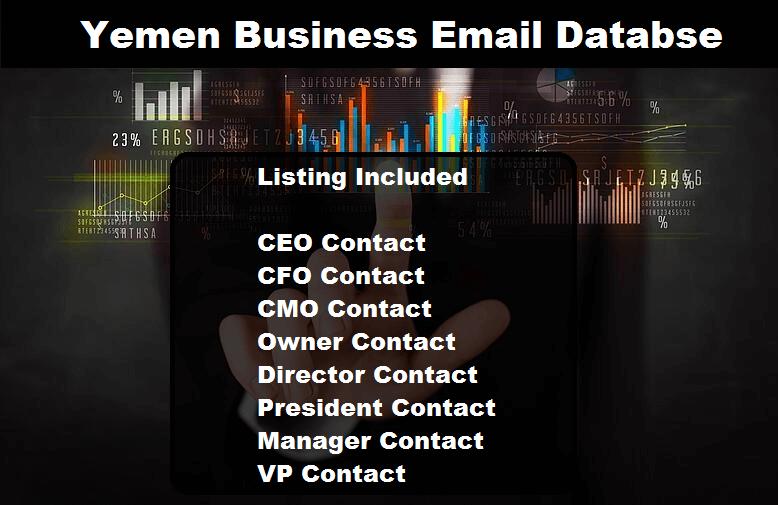 Yemen Business Email Database